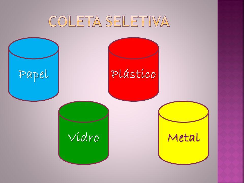 Papel MetalVidro Plástico