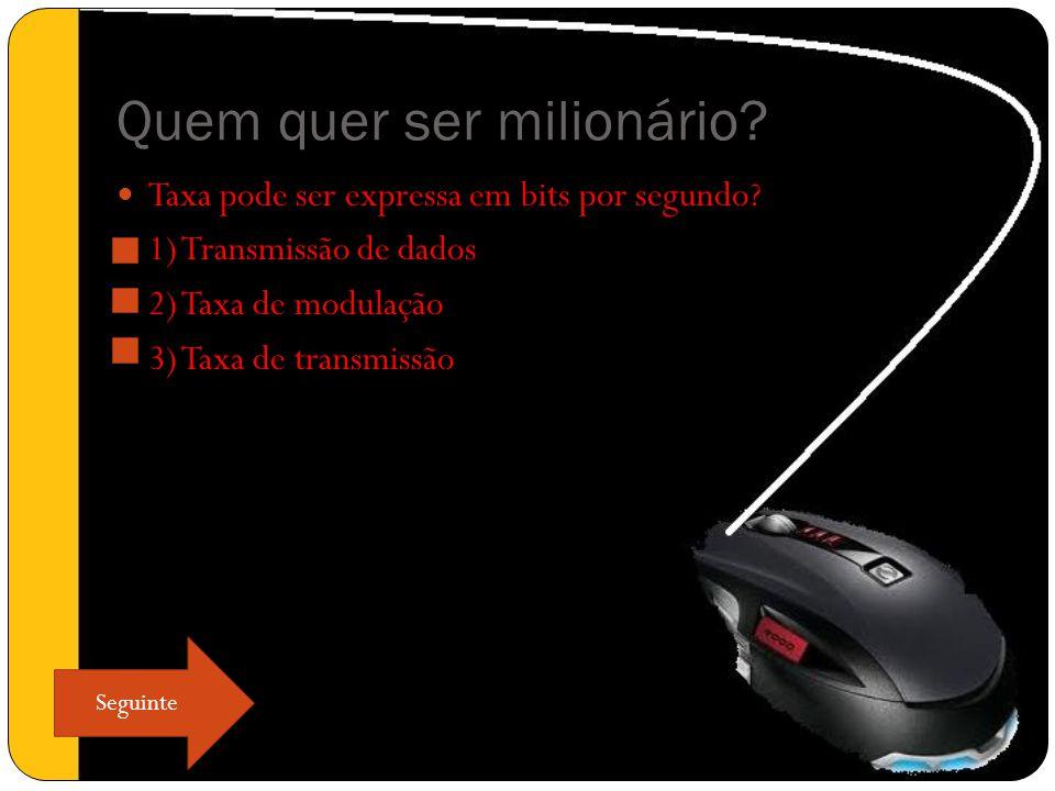 Quem quer ser milionário. Conversão de sinais analógico para sinais digitais.