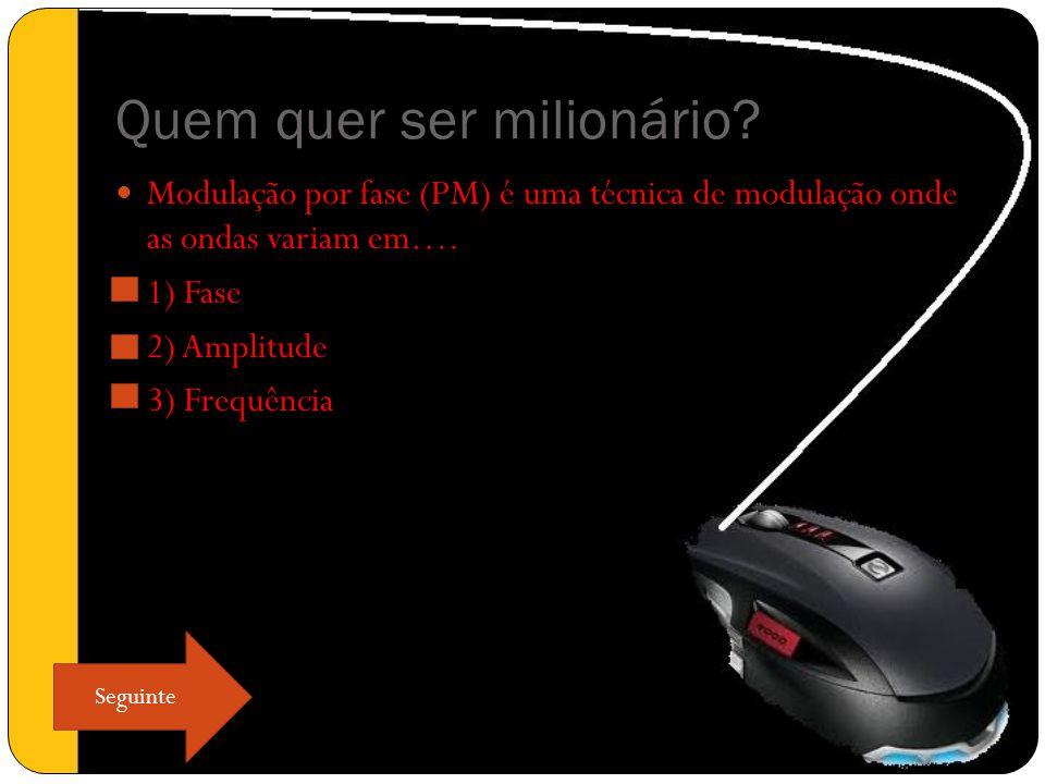 Quem quer ser milionário.
