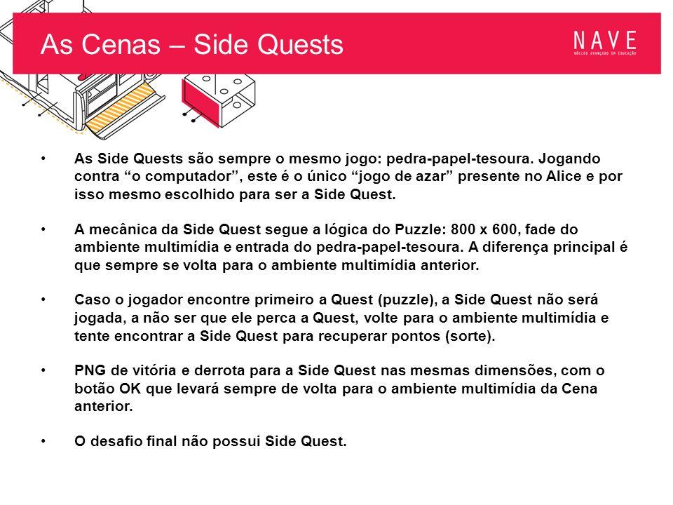 """As Cenas – Side Quests As Side Quests são sempre o mesmo jogo: pedra-papel-tesoura. Jogando contra """"o computador"""", este é o único """"jogo de azar"""" prese"""