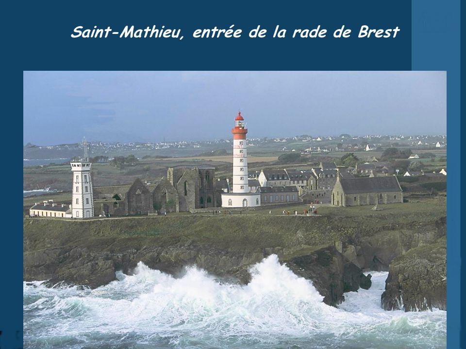 Saint-Mathieu, entrée de la rade de Brest