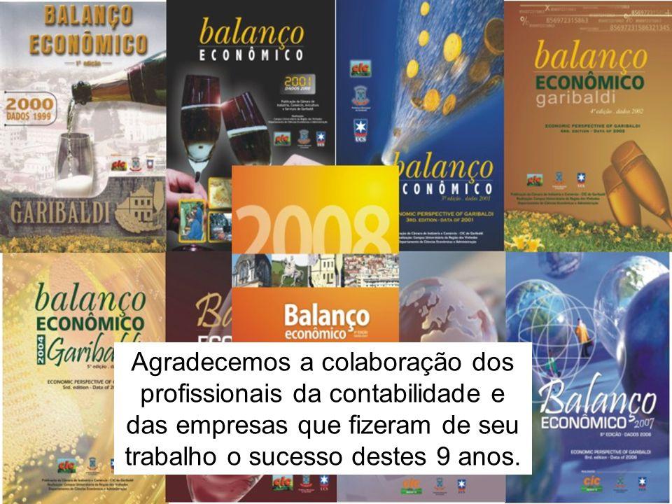 Agradecemos a colaboração dos profissionais da contabilidade e das empresas que fizeram de seu trabalho o sucesso destes 9 anos.