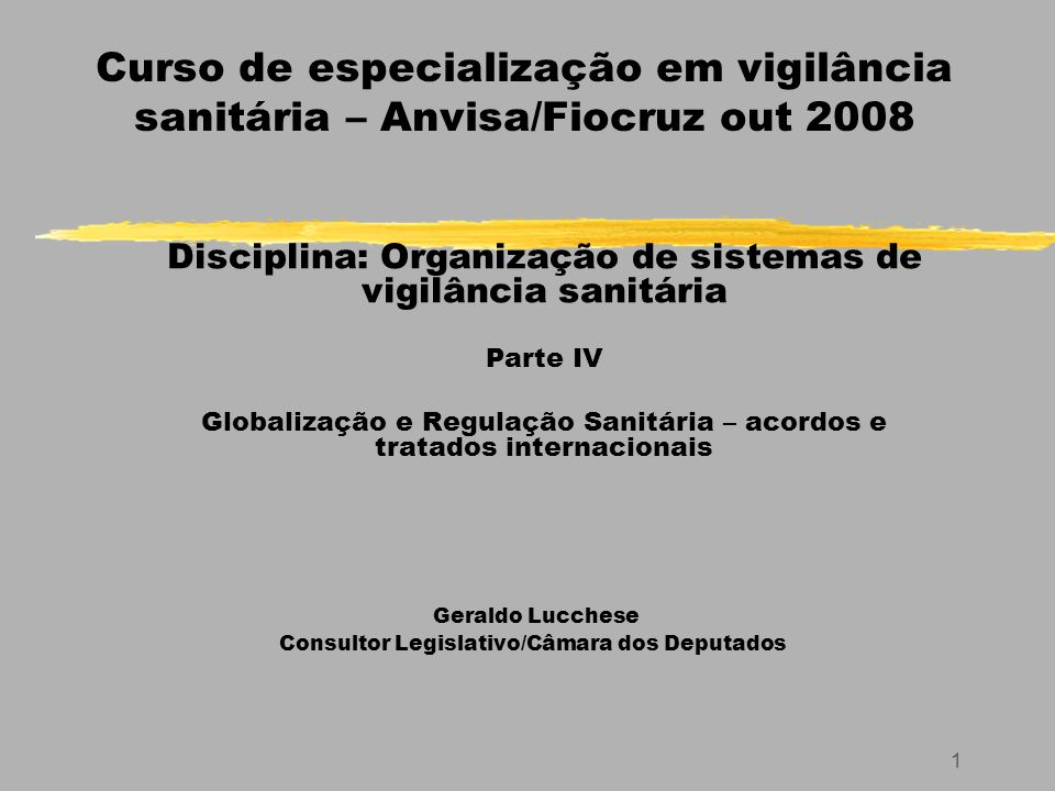 42 Globalização dos Riscos e Desafios à Regulação pelos Estados Nacionais 3.