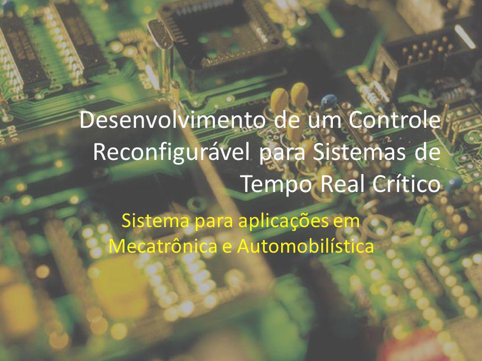 Desafios Tempo de reconfiguração maior que amostragem do sinal Mais de uma tarefa carregada em um módulo, consumindo área Natureza real-time do sinal