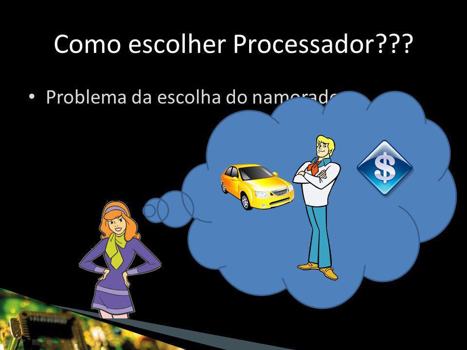 Como escolher Processador Problema da escolha do namorado: