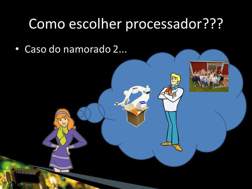 Microcontroladores – Possuem várias interfaces – Vários preços – Famílias – maior duração Como escolher processador???