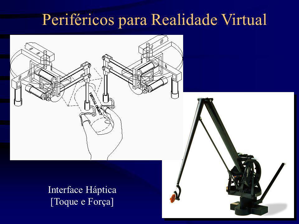 Periféricos para Realidade Virtual Interface Háptica [Toque e Força]