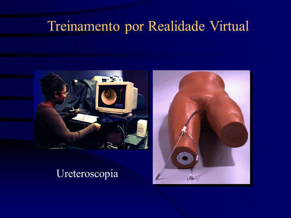 Ureteroscopia Treinamento por Realidade Virtual