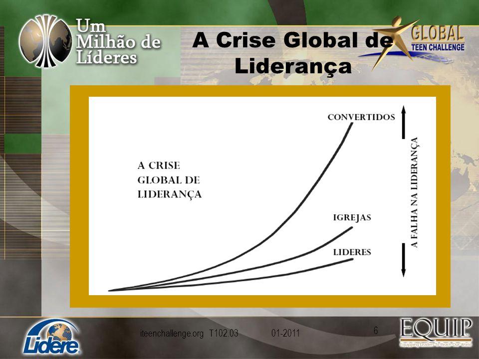 A Crise Global de Liderança iteenchallenge.org T102.03 01-2011 6