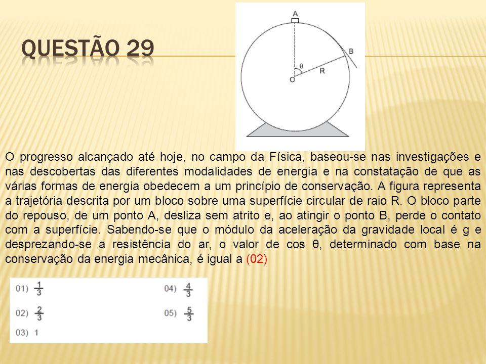 O progresso alcançado até hoje, no campo da Física, baseou-se nas investigações e nas descobertas das diferentes modalidades de energia e na constataç