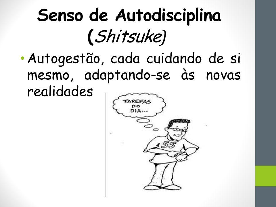 Senso de Autodisciplina (Shitsuke ) Autogestão, cada cuidando de si mesmo, adaptando-se às novas realidades