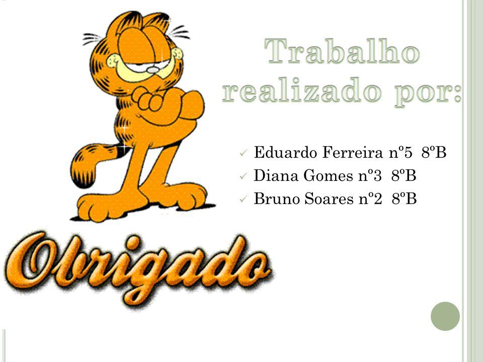 Eduardo Ferreira nº5 8ºB Diana Gomes nº3 8ºB Bruno Soares nº2 8ºB