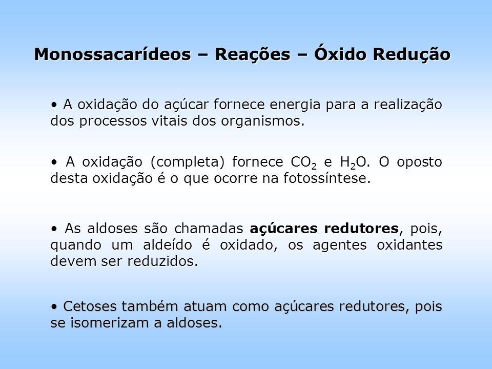 A oxidação do açúcar fornece energia para a realização dos processos vitais dos organismos.
