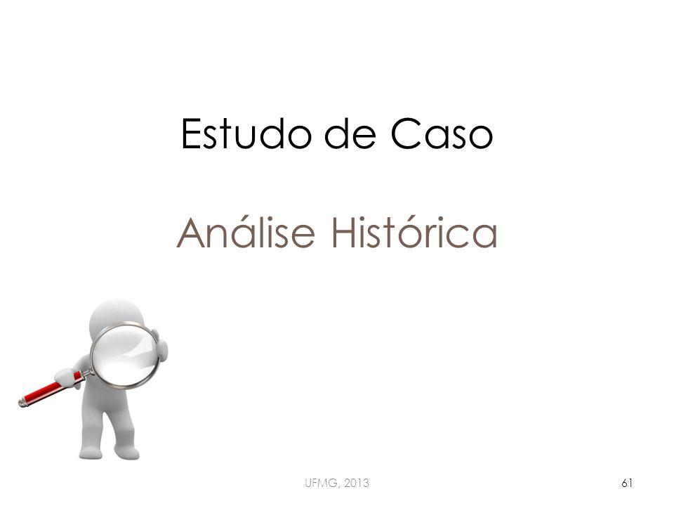 Estudo de Caso Análise Histórica UFMG, 201361