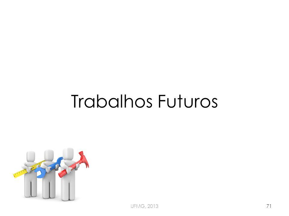 Trabalhos Futuros UFMG, 201371