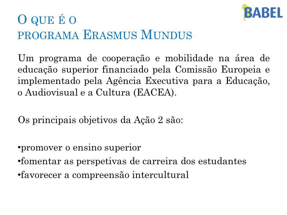  Reunião E.Mundus com informações práticas  Sessão de boas-vindas especialmente para E.