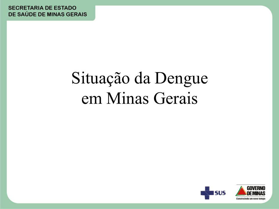 Situação da Dengue em Minas Gerais