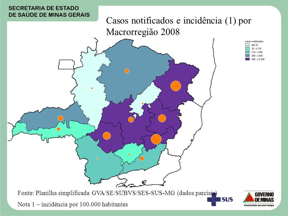 Atividades desenvolvidas 1.Plano de Intensificação das Ações de Controle da Dengue 2006_2007 e 2007_2008.