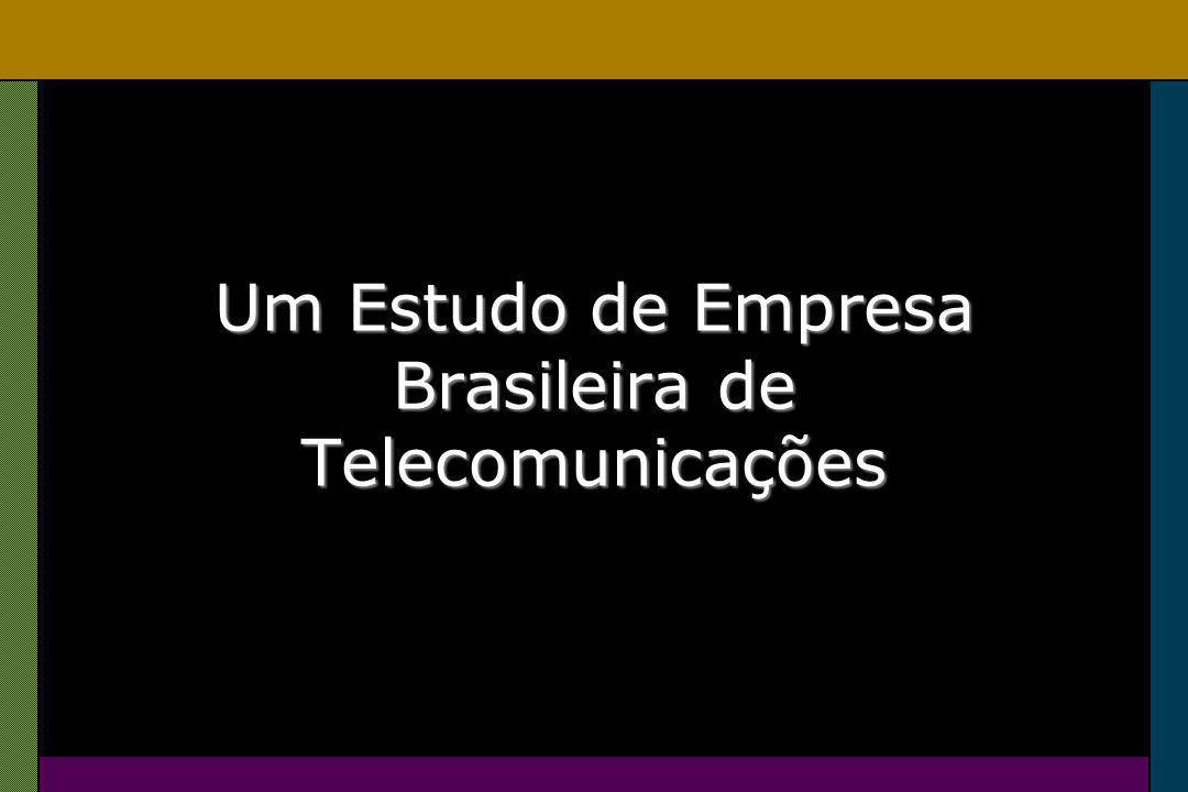 Um Estudo de Empresa Brasileira de Telecomunicações