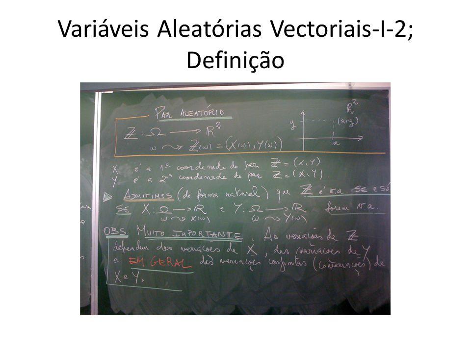 Variáveis Aleatórias Vectoriais-I-3; Função de Probabilidade: par discreto