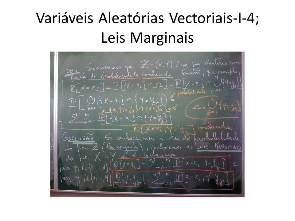Variáveis Aleatórias Vectoriais-I-4; Leis Marginais