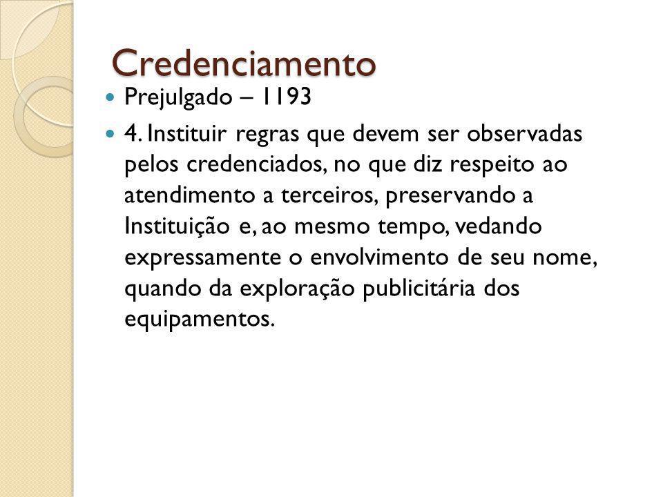Credenciamento Prejulgado – 1193 4.