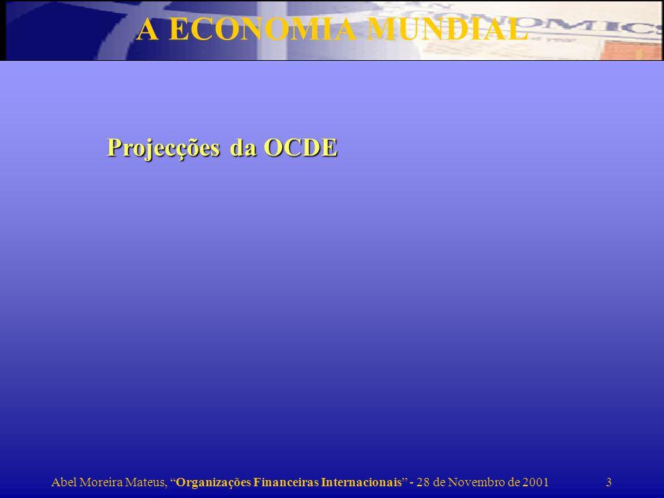 Abel Moreira Mateus, Organizações Financeiras Internacionais - 28 de Novembro de 2001 4