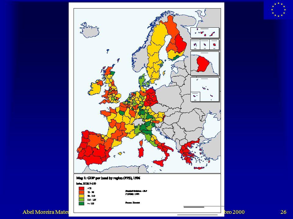 """Abel Moreira Mateus, """"Portugal: Convergência Real para a União Europeia"""" - Outubro 2000 26"""