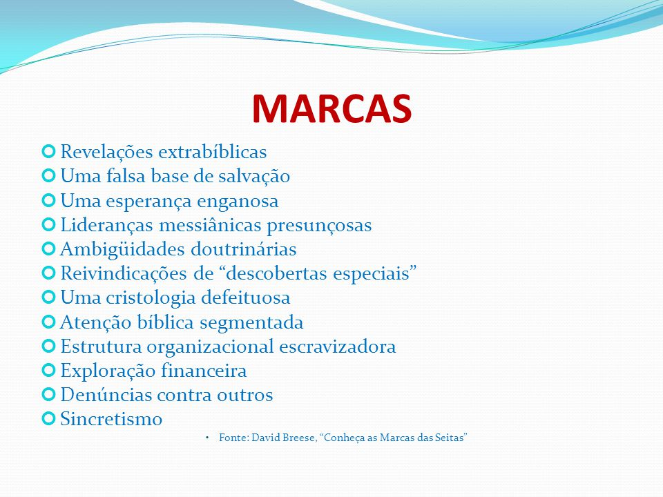 CATOLICISMO ROMANO 2.DOUTRINA 2.18.
