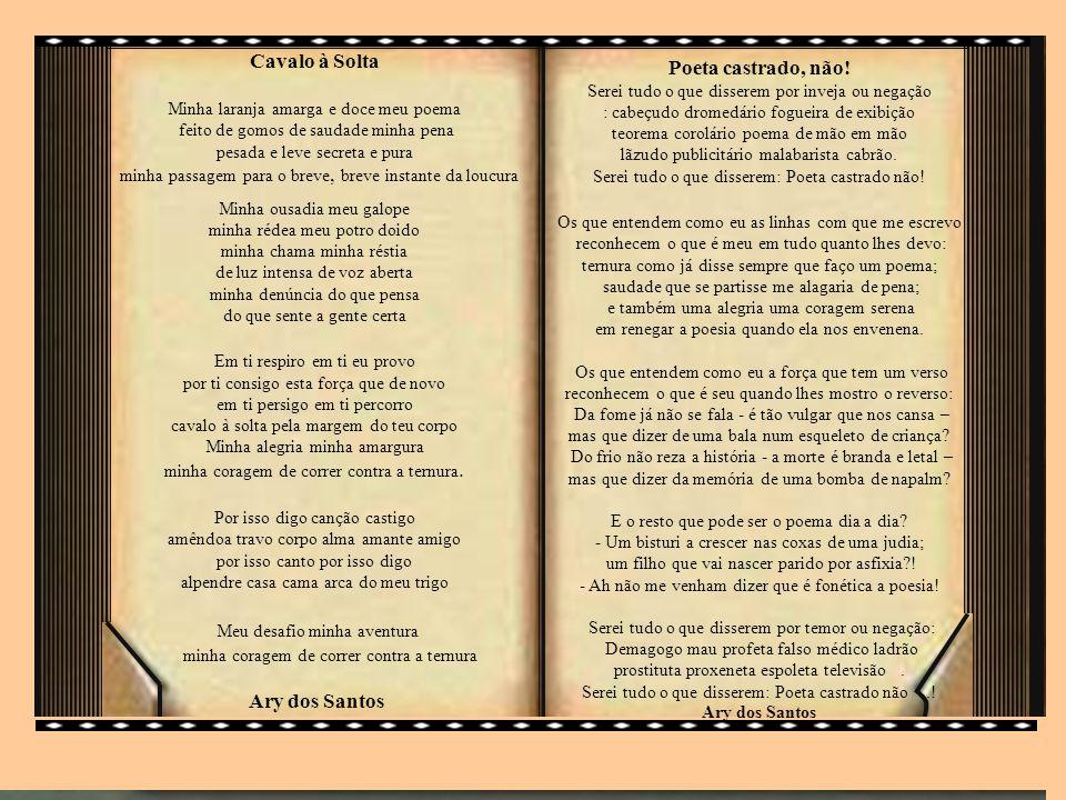 Pedra filosofal Eles não sabem que o sonho é uma constante da vida tão concreta e definida como outra coisa qualquer, como esta pedra cinzenta em que me sento e descanso, como este ribeiro manso,em serenos sobressaltos, como estes pinheiros altos, que em oiro se agitam, como estas aves que gritam em bebedeiras de azul.
