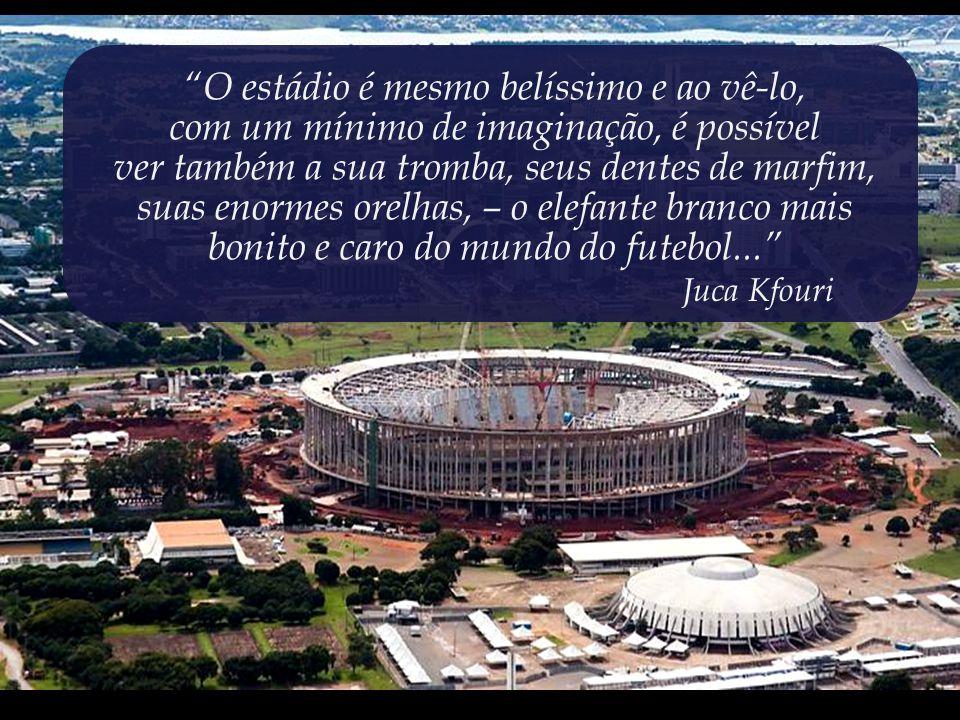 Lembrando: os times de maior projeção do Distrito Federal jogam na terceira divisão do Campeonato Brasileiro; Um absoluto descaso para com as reais prioridades e com o bem-estar social.