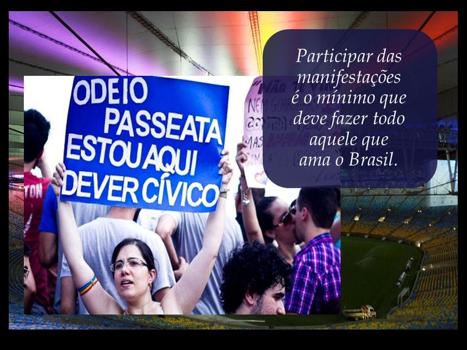 ...imagine o que não devem suportar as crianças brasileiras nos rincões afastados e abandonados do país.
