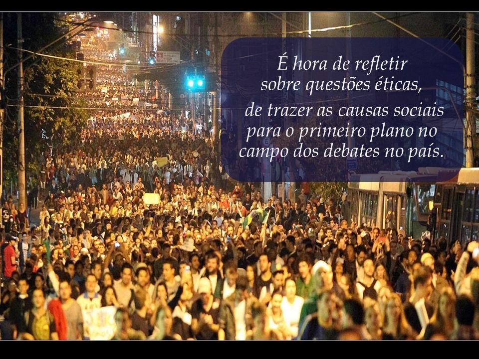 Participar das manifestações é o mínimo que deve fazer todo aquele que ama o Brasil.