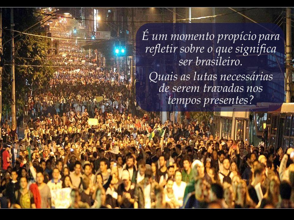 A mesma onda de indignação que vem varrendo o mundo em levantes como a Primavera Árabe e o movimento Occupy resolveu aportar por terras brasileiras.