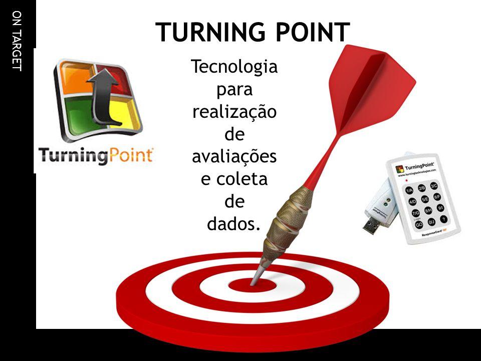 ON TARGET TURNING POINT Tecnologia para realização de avaliações e coleta de dados.