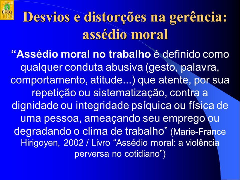 ANEXO Desvios e distorções na gerência: assédio moral