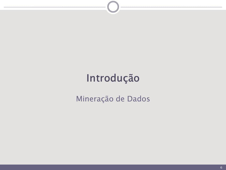 6 Introdução Mineração de Dados