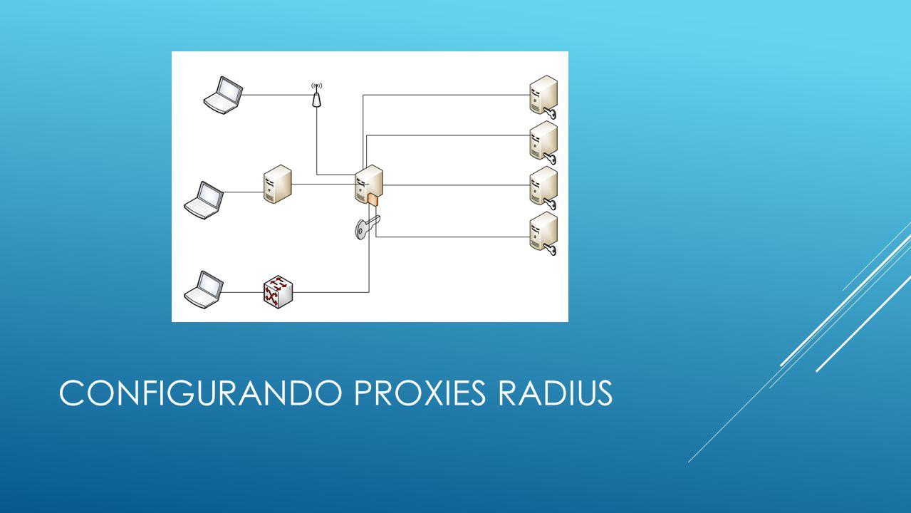 CONFIGURANDO PROXIES RADIUS