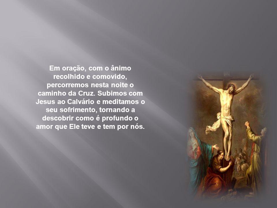Concedei-nos, Senhor, carregar com amor a nossa cruz, as nossas cruzes diárias, na certeza de que estas são iluminadas do fulgor da vossa Páscoa.