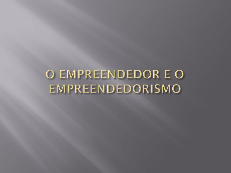  O empreendedorismo é o estudo voltado para o desenvolvimento de competências e habilidades relacionadas à criação e execução de um projeto (técnico, científico, empresarial).