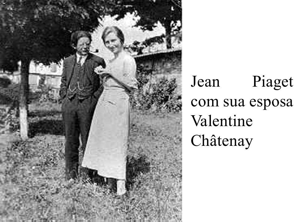 Jean Piaget em 1917 com 21 anos