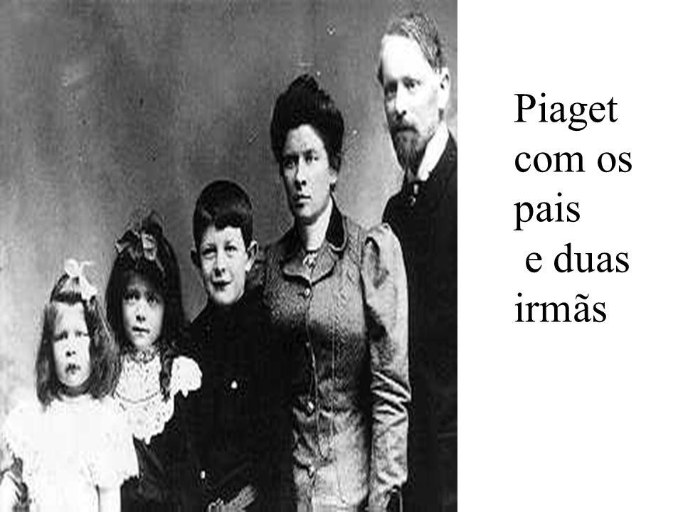 Biografia de Jean Piaget 1952 é convidado a lecionar na Universidade de Sobonne, em Paris sucedendo ao Filósofo Merleau- Ponty. 1955 Em Genebra, funda