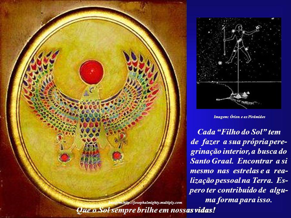 Que o Sol sempre brilhe em nossas vidas! O grande exemplo do Casal Solar, Akhenaton e Nefertiti, duas almas gêmeas que se uniram para o cum- primento