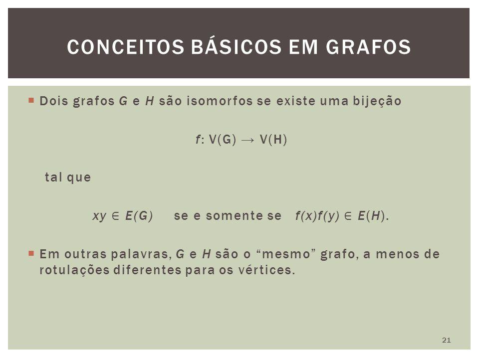 CONCEITOS BÁSICOS EM GRAFOS 21