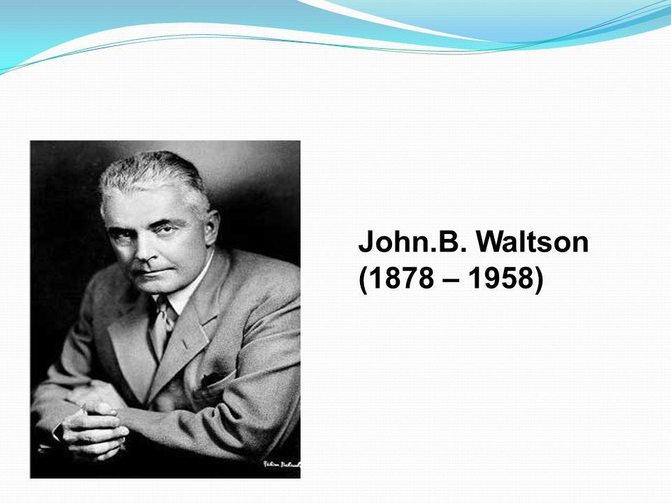 John.B. Waltson (1878 – 1958)