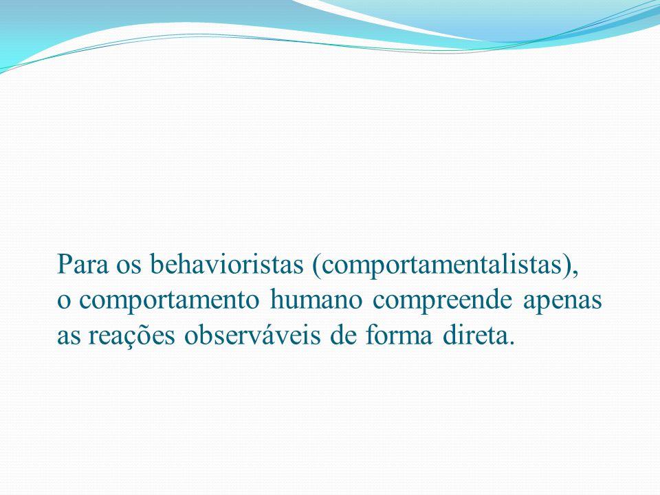 O sentido de Behaviorismo foi sendo modificado com o decorrer do tempo e hoje já não se entende o comportamento como uma ação isolada do sujeito, mas uma interação entre o ambiente (onde o fazer acontece) e o sujeito (aquele que faz ), passando o Behaviorismo a se dedicar ao estudo das interações entre o sujeito e o ambiente, e as ações desse sujeito (suas respostas) e o ambiente (os estímulos).