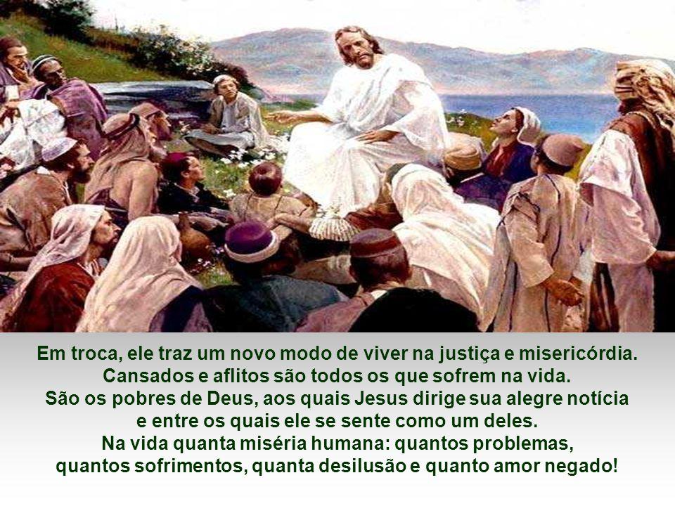 Há problemas que não tem solução, há dor que nenhum analgésico cura, há escuridão onde a luz não penetra! E Cristo nos repete: