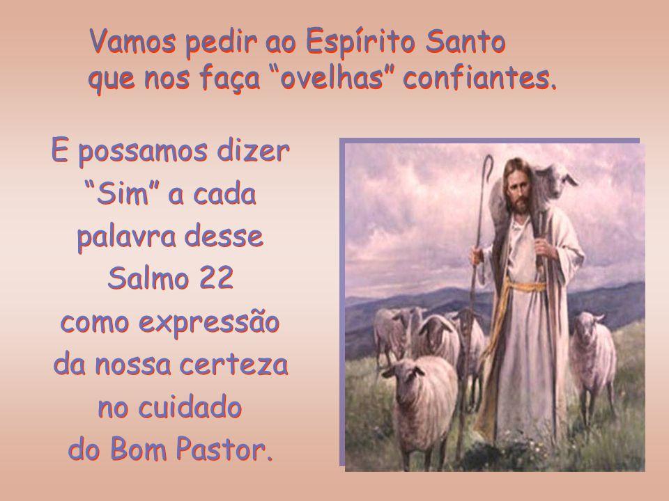 """Sim, Ele prometeu cuidar: """"Vou tomar, eu próprio o cuidado de minhas ovelhas, velarei sobre elas"""". (Ezequiel 34,11) Sim, Ele prometeu cuidar: """"Vou tom"""