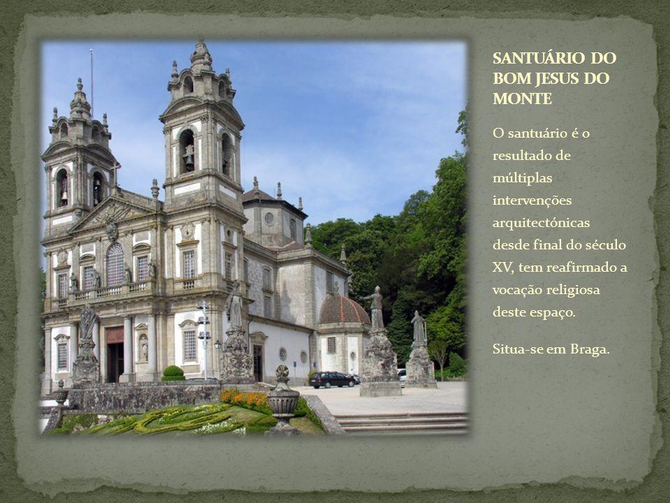 O santuário é o resultado de múltiplas intervenções arquitectónicas desde final do século XV, tem reafirmado a vocação religiosa deste espaço. Situa-s