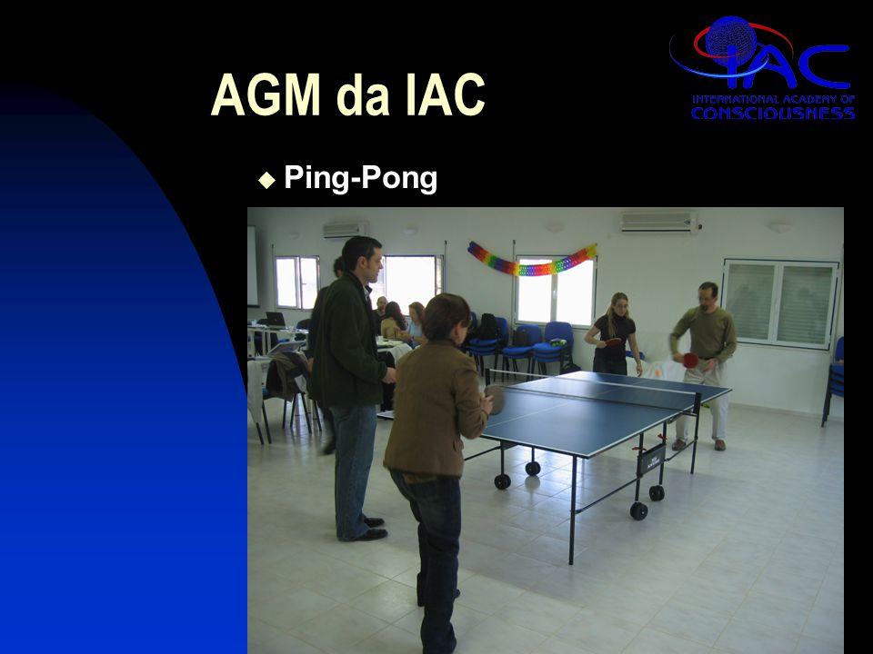 AGM da IAC  Ping-Pong